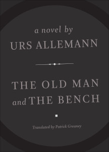 Old Man and the bench by Urs Allemann,cover